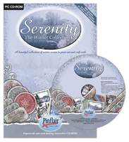CD02 Serenity Winter<br>Collection CD Rom
