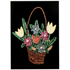 GA12 Flower Basket